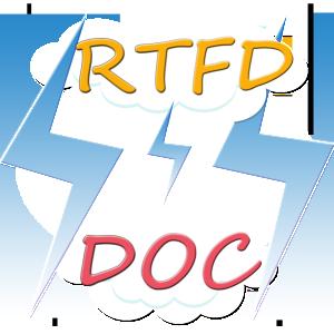 RTFD to DOC